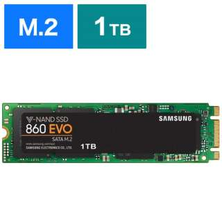 MZ-N6E1T0B/IT 内蔵SSD 860 EVO M.2 [M.2 /1TB] 【バルク品】
