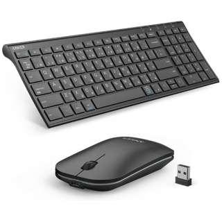 ワイヤレスキーボード&マウスセット[2.4GHz USB・日本語] A7733511