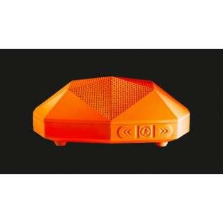 OT1800O ブルートゥース スピーカー TURTLE SHELL 2.0 オレンジ [Bluetooth対応 /防水]