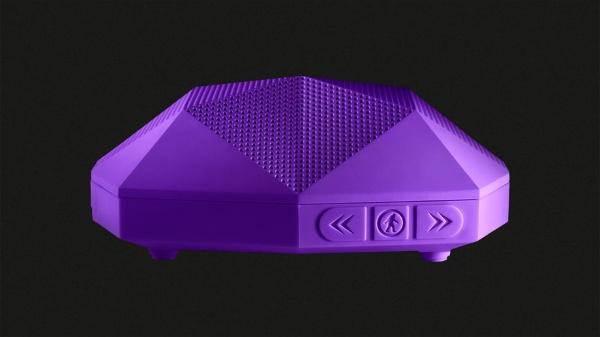 アウトドアテック OT1800P ブルートゥース スピーカー TURTLE SHELL 2.0 パープル Bluetooth対応 防水