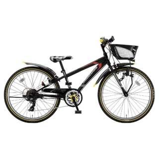24型 子供用自転車 クロスファイヤー ジュニア(P.Xシーニックブラック/7段変速) CFJ47【2018年モデル】 【組立商品につき返品不可】