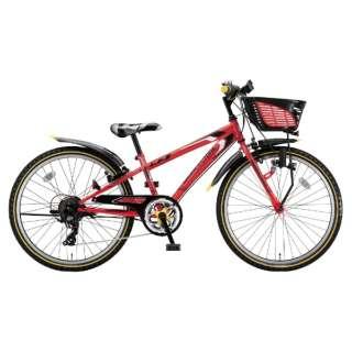 26型 子供用自転車 クロスファイヤー ジュニア(F.Xピュアレッド/7段変速) CFJ67【2018年/ダイナモモデル】 【組立商品につき返品不可】
