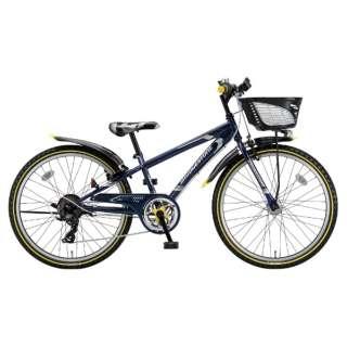 24型 子供用自転車 クロスファイヤー ジュニア(P.Xコスモバイオレット/7段変速) CFJ47T【2018年/点灯虫モデル】 【組立商品につき返品不可】