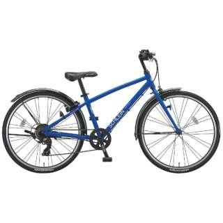 24型 子供用自転車 シュライン(F.Xグリッターブルー/7段変速) SHL47【2018年モデル】 【組立商品につき返品不可】