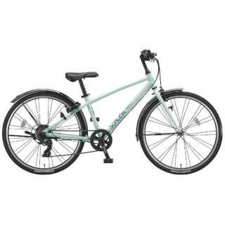 24型 子供用自転車 シュライン(E.Xミストグリーン/7段変速) SHL47【2018年モデル】 【組立商品につき返品不可】