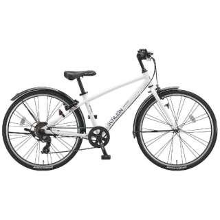 26型 子供用自転車 シュライン(P.Xオーロラホワイト/7段変速) SHL67【2018年モデル】 【組立商品につき返品不可】