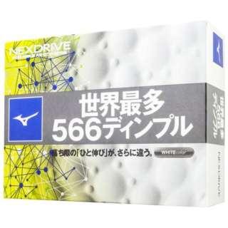 ゴルフボール ネクスドライブ《1ダース(12球)/ホワイト》 【オウンネーム非対応】