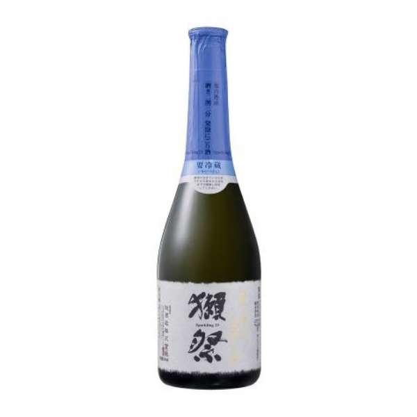 【ビック酒販正規取り扱い店舗限定】 獺祭(だっさい) 純米大吟醸磨き二割三分 発泡にごり 360ml【日本酒・清酒】