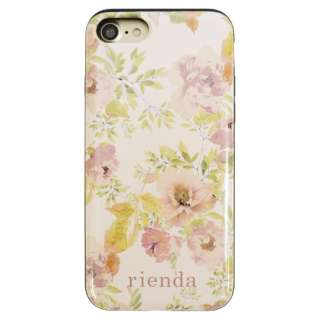 iPhone8/7 (4.7) rienda VINTAGE ROSE シェルケース MD74016