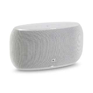 JBLLINK500WHTJN スマートスピーカー(AIスピーカー) ホワイト [Bluetooth対応 /Wi-Fi対応]