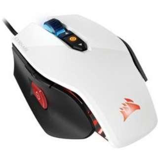 CH-9300111-AP マウス M65 PRO RGB ホワイト [光学式 /8ボタン /USB /有線]
