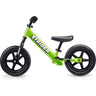 12型 ランニングバイク ストライダー Sports Model ストライダー12インチ スポーツモデル(グリーン)フットレスト付き【対象年齢:1歳半~5歳/27kgまで】 【店舗限定販売のみ】