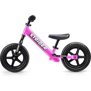 12型 ランニングバイク ストライダー Sports Model ストライダー12インチ スポーツモデル(ピンク)フットレスト付き【対象年齢:1歳半~5歳/27kgまで】 【店舗限定販売のみ】