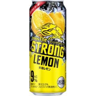 キリン・ザ・ストロング 本格レモン (500ml/24本)【缶チューハイ】