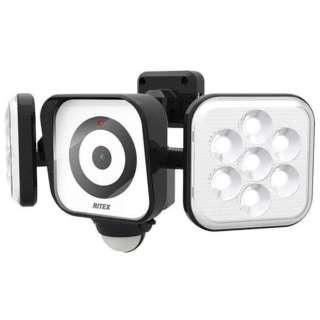 LEDセンサーライト付防犯カメラ YC160