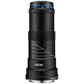 カメラレンズ 25mm F2.8 2.5-5X ULTRA MACRO ブラック [キヤノンEF /単焦点レンズ]