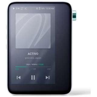 デジタルオーディオプレーヤー クールホワイト ACTIVO-CT10-WHT [16GB /ハイレゾ対応]