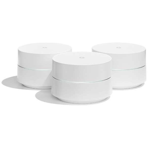 Google Wifi (3Pack) GA00158-JP ホワイト [ac/n/a/g/b]