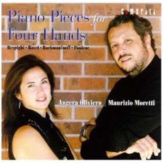 マウリツィオ・モレッティ(p)/ ラヴェル: マ・メール・ロワ-4手のためのピアノ作品集 【CD】