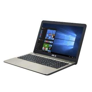 D541NA-GO673TS ノートパソコン VivoBook ダークブラウン [15.6型 /intel Celeron /HDD:500GB /メモリ:4GB /2018年4月モデル]