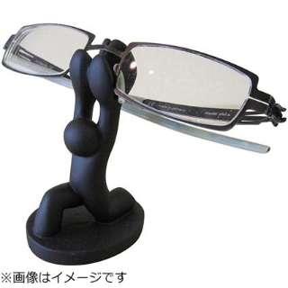 重量あげメガネホルダー(ブラック)HM-23690