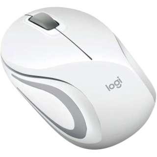 M187rWH マウス ホワイト [光学式 /3ボタン /USB /無線(ワイヤレス)]