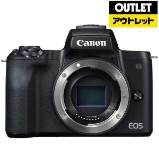 【アウトレット品】 EOS Kiss M ミラーレス一眼カメラ ブラック [ボディ単体] 【展示品】