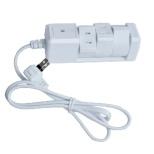 電源タップ ホワイト PTBK1303WH [1.0m /3個口 /スイッチ付き(一括)]