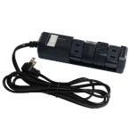 電源タップ ネイビー PTBK2404NY [2.0m /4個口 /スイッチ付き(一括)]