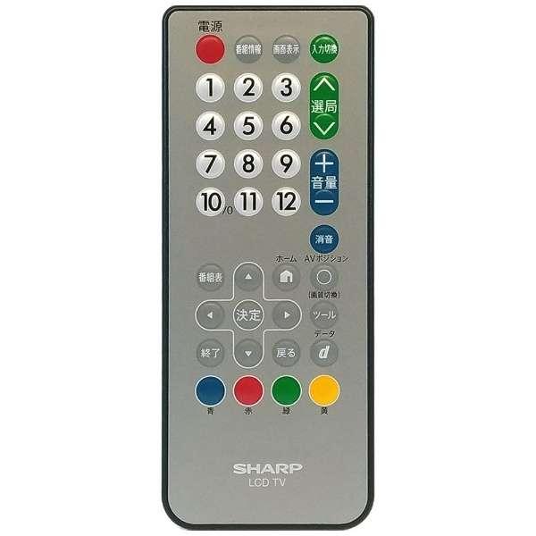 【部品 開封済未使用品】浴室テレビ BTV-3200D用 純正リモコン 0106380461