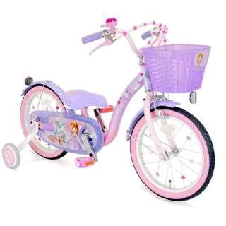 16型 幼児用自転車 ソフィア&スカイ 16(パープル×ピンク/シングルシフト) 【組立商品につき返品不可】