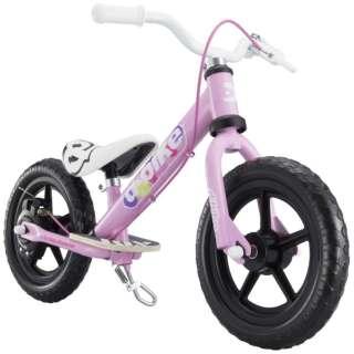 12型相当 幼児用自転車 D-BIKE KIX V(ベイビーピンク/シングルシフト) 【組立商品につき返品不可】