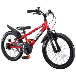 18型 幼児用自転車 D-BIKE MASTER 18V(レッド/シングルシフト)【4歳半以上向け】 【組立商品につき返品不可】