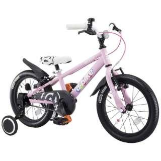 16型 幼児用自転車 D-BIKE MASTER 16V 補助輪付き(ベイビーピンク/シングルシフト)【3歳半以上向け】 【組立商品につき返品不可】