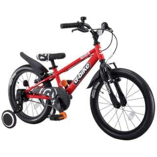 18型 幼児用自転車 D-BIKE MASTER 18V 補助輪付き(レッド/シングルシフト)【4歳半以上向け】 【組立商品につき返品不可】