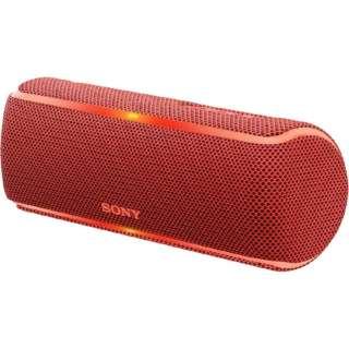 SRS-XB21RC ブルートゥース スピーカー レッド [Bluetooth対応 /防水]