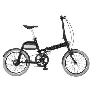 【eバイク】 20型 折りたたみ電動アシスト自転車 ALIAS(グロスブラック/シングルシフト) AR-TN20TSF 【組立商品につき返品不可】