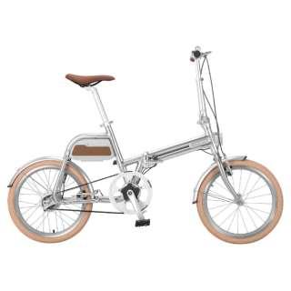 【eバイク】 20型 折りたたみ電動アシスト自転車 ALIAS(シルバー/シングルシフト) AR-TN20TSF 【組立商品につき返品不可】