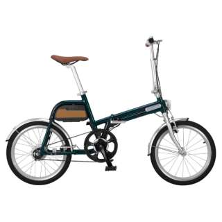 【eバイク】 20型 折りたたみ電動アシスト自転車 ALIAS(グリーン/シングルシフト) AR-TN20TSF 【組立商品につき返品不可】