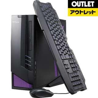 【アウトレット品】 BCGTUNE74G15D1LL ゲーミングデスクトップパソコン [モニター無し /HDD:1TB /SSD:120GB /メモリ:8GB] 【数量限定品】