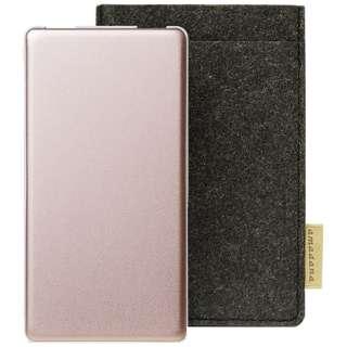 モバイルバッテリー mobile battery AT-MBA62P(P)[6200mAh /3ポート /microUSB /充電タイプ]