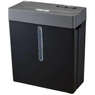 NSE-109BK 電動シュレッダー ブラック [クロスカット /A4サイズ]