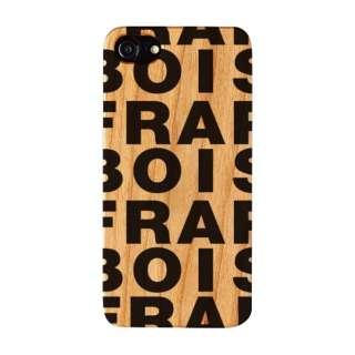 iPhone8/7/6s/6 FRAPBOIS WOOD LOGO BLACK AB-0850-IP67