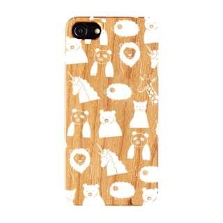 iPhone8/7/6s/6 FRAPBOIS WOOD ZOO WHITE AB-0853-IP67