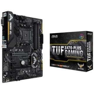 ゲーミングマザーボード AMD X470 TUF X470-PLUS GAMING [ATX]