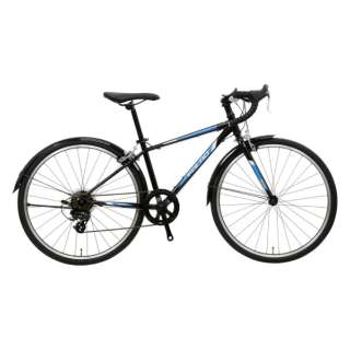 24型 子供用自転車 FALAD Jr-K(ブラック/7段変速) NE-18-009【2018年モデル】