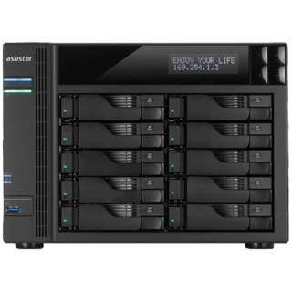 NASキット[HDD無2.5/3.5インチ 10台 クアッドコア] 62シリーズ AS6210T [据え置き型]