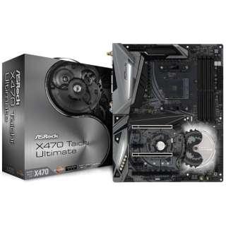 マザーボード AMD X470チップセット搭載 X470 TAICHI ULTIMATE [ATX]