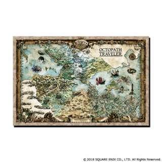 オクトパストラベラー 大陸地図クリーナークロス
