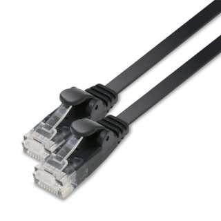 LD-GF2/BK10 LANケーブル ブラック [10m /カテゴリー6 /フラット]